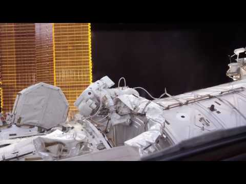 NASA: International Space Station Extravehicular Activity in 4K