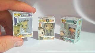 Funko Pop miniature en papercraft - DIY mini funko Pop