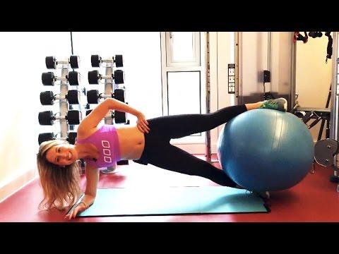Swiss Ball Workout: Butt, Legs & Core!