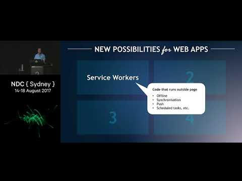 Web Apps can't really do *that*, can they? - Steve Sanderson