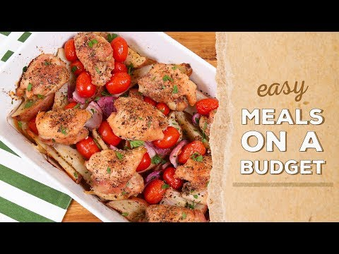 3 Budget-Friendly Meals | Dinner Made Easy