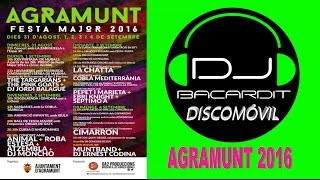 Fiesta Major  dj Bacardit  - Agramunt  2016 Party  , Lleida.