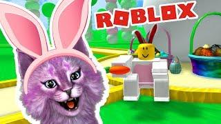 СИМУЛЯТОР КРОЛИКА В РОБЛОКС кошка Лана теперь кролик roblox Bunny Rabbit Simulator
