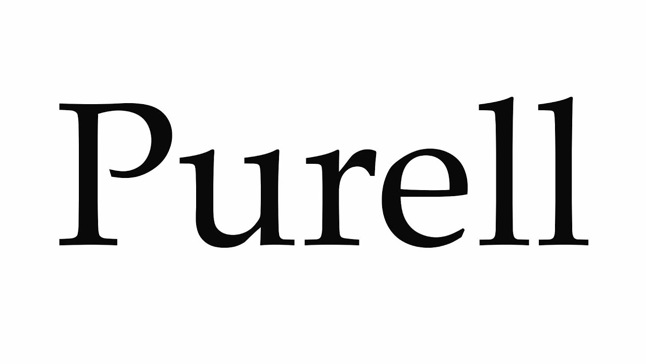 How To Pronounce Purell Youtube