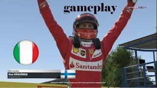 F1 2016 Kimi Raikkonen Gameplay (PC) Italian