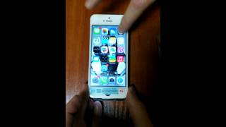 LCD for iPhone 5 bought on AliExpress 30/01/2015 in GTMAB Electronics, Store No.316184