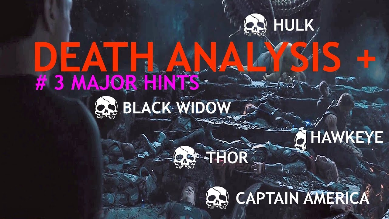 avengers infinity war leaked : death scene analysis & 3 spoilers not