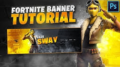 Tutorial: How To Make An EPIC Fortnite Banner In Photoshop! 🎨 (EASY)
