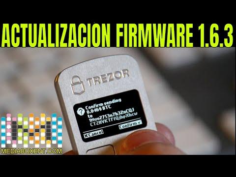 trezor-one:-actualización-de-firmware-1.6.3
