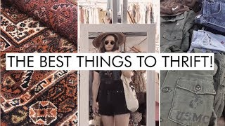 Don't Buy These New! 5 ZERO WASTE Items To Buy At The Thrift Store Or Flea Market | Alli Cherry