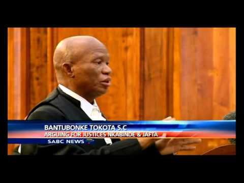 Judgement reserved in the John Hlophe SCA case