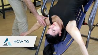 Four Inversion Table Stretches for Back Pain – Therapeutic Massage Specialist endorses Teeter