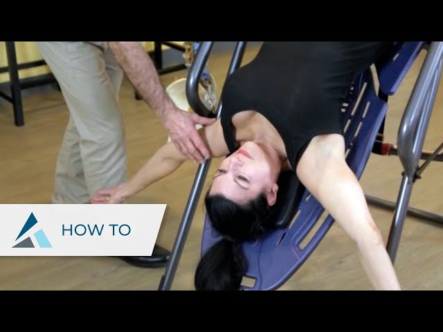 Four Inversion Table Exercises for Back Pain – Therapeutic Massage Specialist endorses Teeter