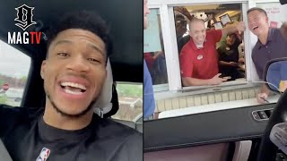 Giannis Antetokounmpo Wants Chick-Fil-A  For Life After Winning The NBA Champion