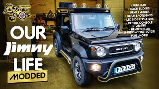 Modifying our new Suzuki Jimny // The Late Brake Show