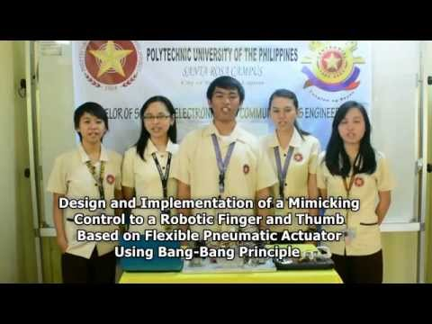 Design and Implementation of a Mimicking Control to a Robotic Finger and Thumb...