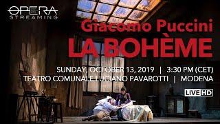 Giacomo Puccini LA BOHÈME - OPERA LIVE STREAMING