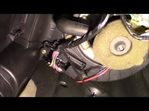 Gm Er Motor Resistor Troubleshooting 2002 2009 Chevy Trailblazer Gmc Envoy Or Similar