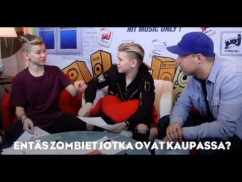 Marcus & Martinus on Radio NRJ Finland