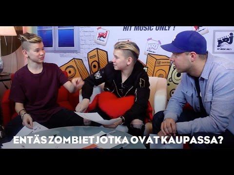 Marcus & Martinus on Radio NRJ Finland