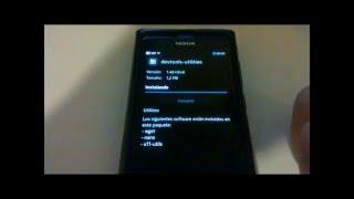 Como instalar los paquetes wget y nano en Nokia N9