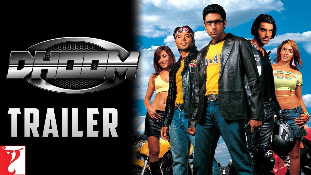Download Dhoom   Official Trailer   John Abraham   Abhishek Bachchan   Uday Chopra   Esha   Rimi