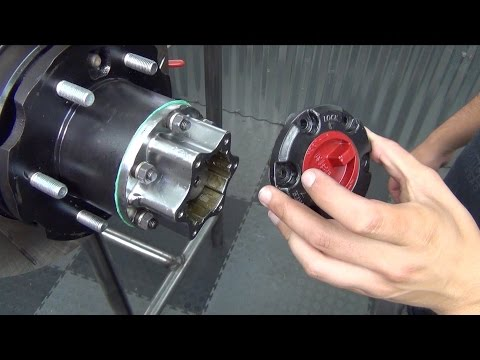 How To Rebuild A Toyota 4X4 Solid Front Axle (Part 9) Aisin