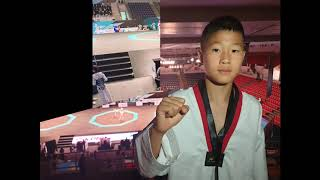 3rd Asian Taekwondo Championships [Cadet Male -33kg Korea Seo.Eunsoo] 안양초 태권도