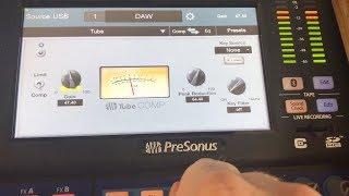 Tube Compressor | Presonus StudioLive 24 Series III