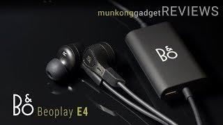 รีวิว : หูฟัง B&O Beoplay E4