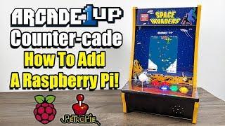 Add a Raspberry Pi To The Arcade1Up Counter Cade!