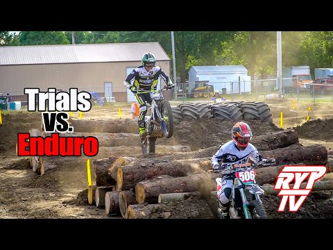 Racing Endurocross on a Trials Bike with Pat Smage