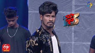 Sravan Performance | Dhee 13 | Kings vs Queens | 28th July 2021 | ETV Telugu