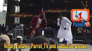 Woli Agba and Dele Perform At Olamide Live In Concert OLIC4