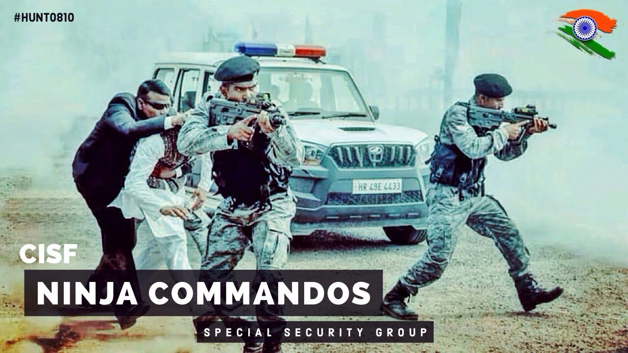 Download CISF Ninja Commandos - Special Security Group in Action (Military Motivational)
