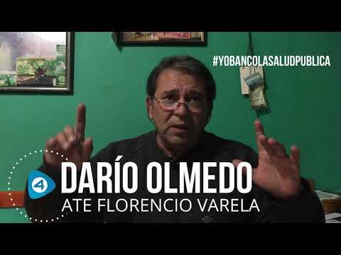 """Darío Olmedo de ATE Varela: """"Las políticas que se quieren aplicar en el Hospital El Cruce vienen de la mano de Macri y Vidal"""""""
