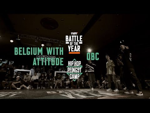 Belgium With Attitude Vs OBC | 3vs3 Top 8 | Hip Hop Pfingstcamp X Snipes BOTY CE 2019