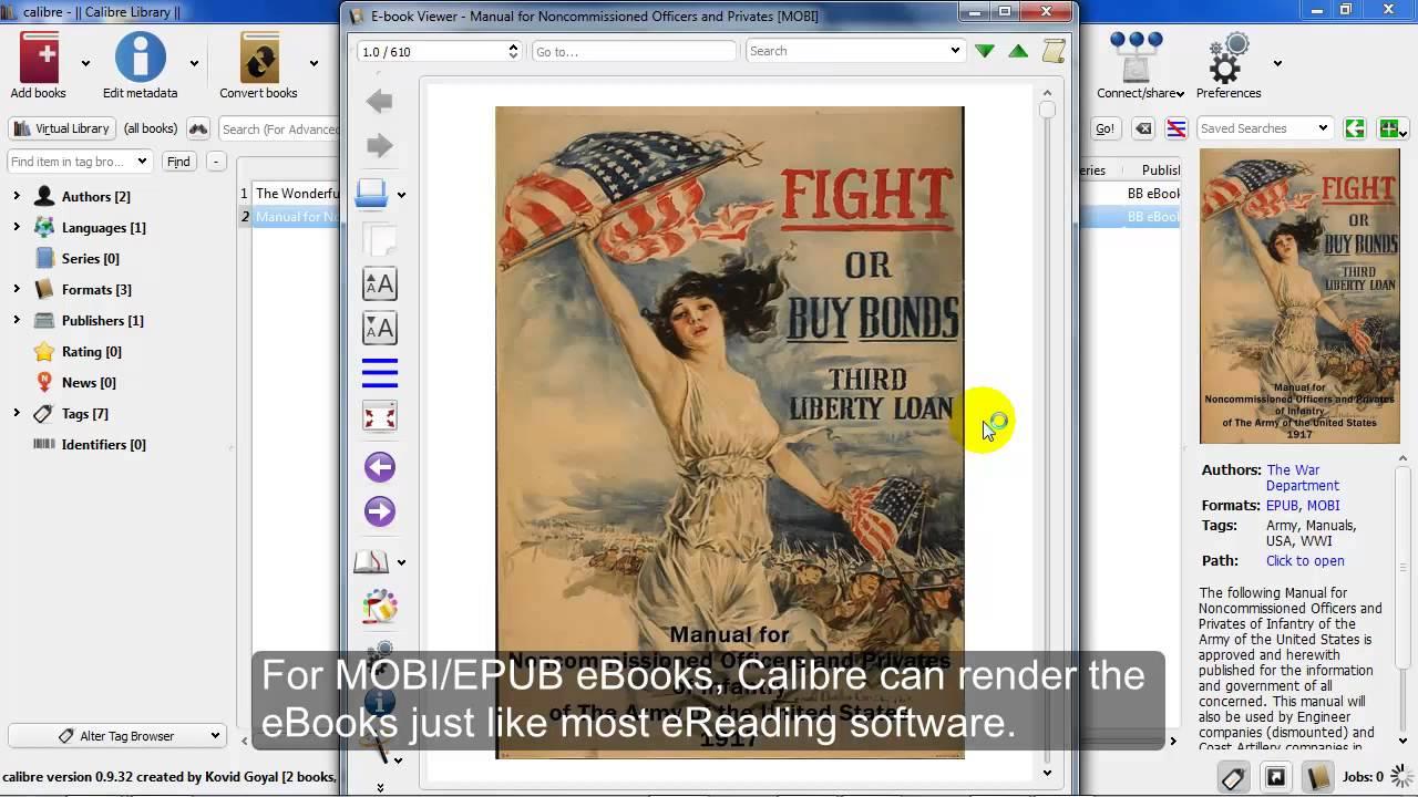 Calibre 64 Bit Ebook Management