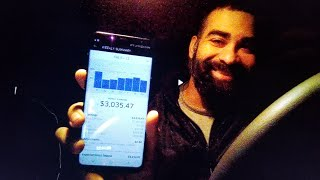 How much money I make DRIVING for Uber in one week.