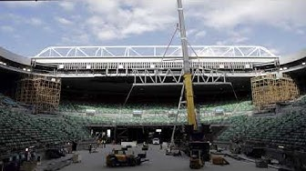 Rod Laver Arena Upgrade May – September 2017 1080HD R