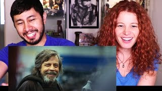 STAR WARS The Last Jedi Behind the Scenes - It's A Wrap | REACTION