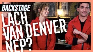 BACKSTAGE BIJ 'LA CASA DE PAPEL' (+ Q&A MET DE CAST!) *english subs* ● BACKSTAGE