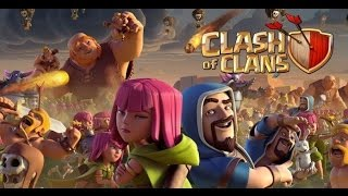 CLASH OF CLANS GUERRA vs Born to Win