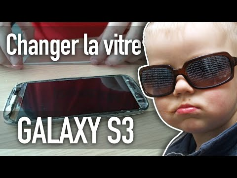 Changer une vitre cassée sur un Galaxy S3