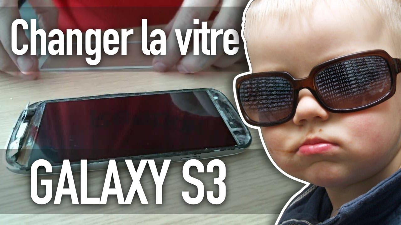 Changer Une Vitre Cass 233 E Sur Un Galaxy S3 Youtube