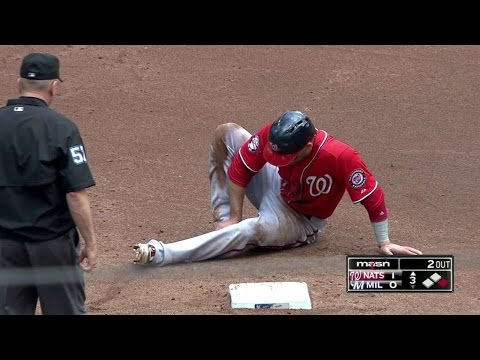 WSH@MIL: Espinosa shaken up after...