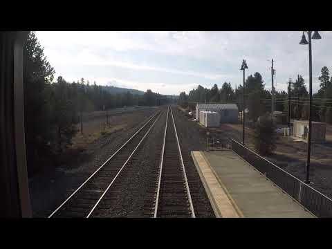 Klamath Falls To Eugene, Oregon, By Train