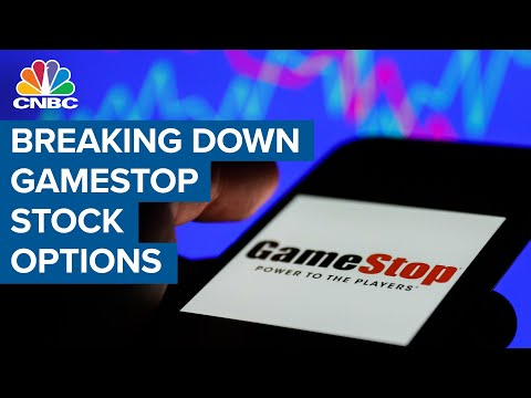 Derivative strategist breaks down GME stock options right now