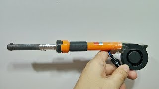 How to Make Hot Air Gun from Soldering Iron