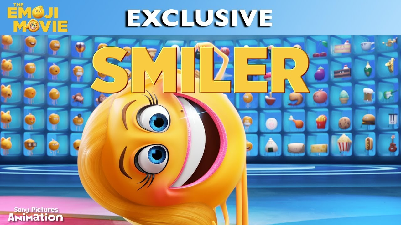 the emoji movie meet smiler youtube